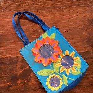 Faith Blooms In The Heart Tote Bag Carry Satchel
